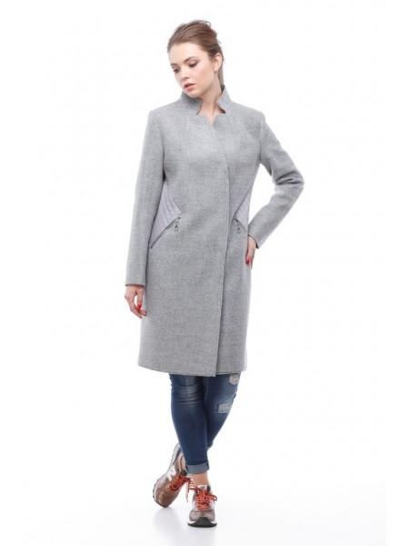 Пальто Мадлен серый